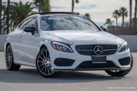 2017 Mercedes-Benz C-Class for sale at Euro Auto Sales in Santa Clara CA