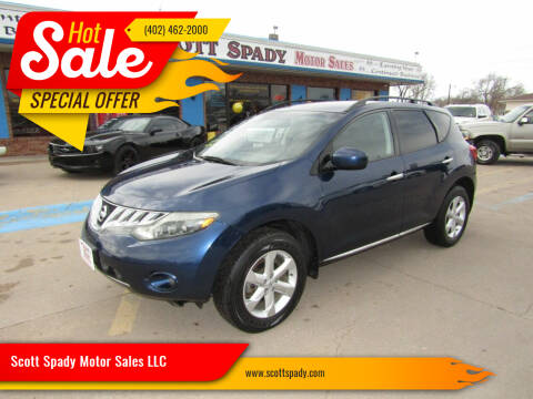2009 Nissan Murano for sale at Scott Spady Motor Sales LLC in Hastings NE
