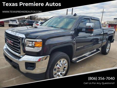 2015 GMC Sierra 2500HD for sale at Texas Premiere Autos in Amarillo TX
