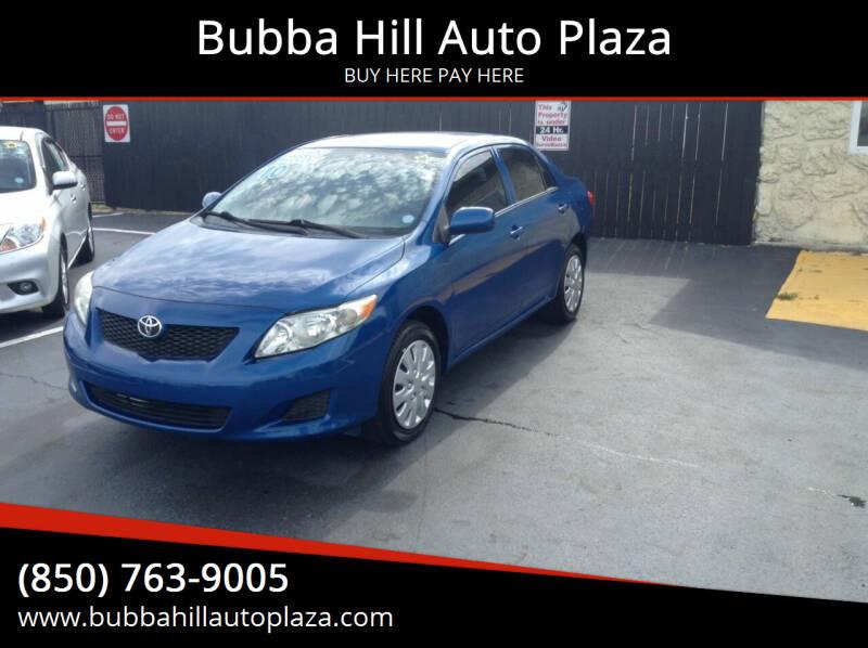 2010 Toyota Corolla for sale at Bubba Hill Auto Plaza in Panama City FL