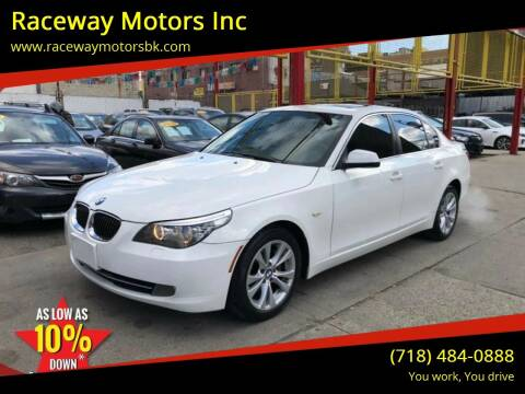 2010 BMW 5 Series for sale at Raceway Motors Inc in Brooklyn NY
