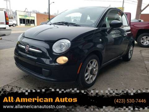 2015 FIAT 500 for sale at All American Autos in Kingsport TN