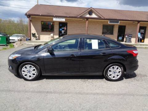 2012 Ford Focus for sale at On The Road Again Auto Sales in Lake Ariel PA
