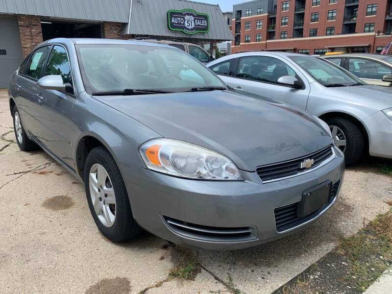 2007 Chevrolet Impala for sale at LOT 51 AUTO SALES in Madison WI