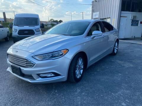 2017 Ford Fusion for sale at Dallas Auto Drive in Dallas TX