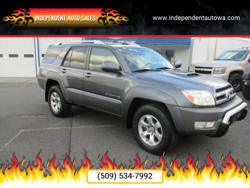 2003 Toyota 4Runner for sale at Independent Auto Sales in Spokane Valley WA