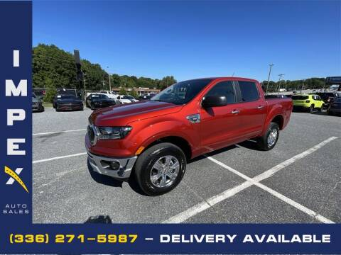 2019 Ford Ranger for sale at Impex Auto Sales in Greensboro NC