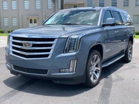 2015 Cadillac Escalade ESV for sale at LUXURY AUTO MALL in Tampa FL