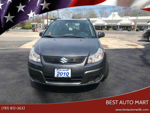 2010 Suzuki SX4 Crossover for sale at Best Auto Mart in Weymouth MA