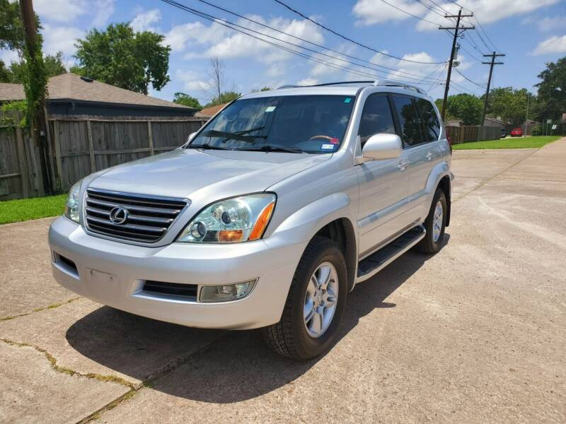 2007 Lexus GX 470 for sale at MOTORSPORTS IMPORTS in Houston TX