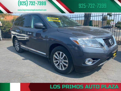 2014 Nissan Pathfinder for sale at Los Primos Auto Plaza in Antioch CA