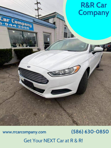 2013 Ford Fusion for sale at R&R Car Company in Mount Clemens MI