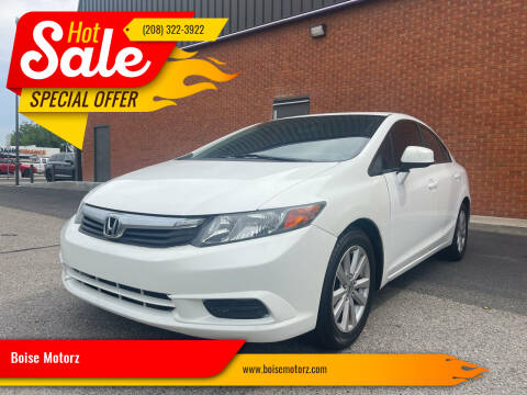 2012 Honda Civic for sale at Boise Motorz in Boise ID