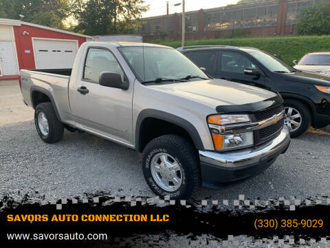 2006 Chevrolet Colorado for sale at SAVORS AUTO CONNECTION LLC in East Liverpool OH