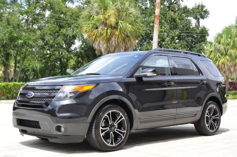2015 Ford Explorer for sale at Vision Motors, Inc. in Winter Garden FL