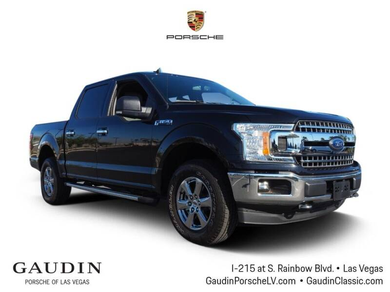 2019 Ford F-150 for sale at Gaudin Porsche in Las Vegas NV