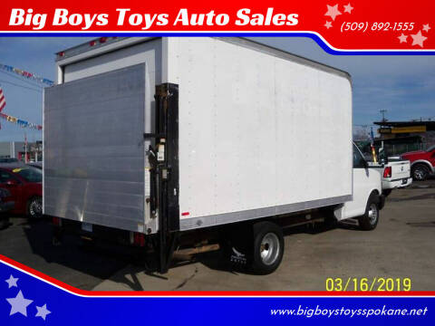 2008 Chevrolet Express Cutaway for sale at Big Boys Toys Auto Sales in Spokane Valley WA