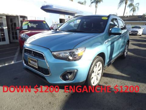 2013 Mitsubishi Outlander Sport for sale at PACIFICO AUTO SALES in Santa Ana CA