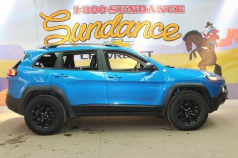 2017 Jeep Cherokee for sale at Sundance Chevrolet in Grand Ledge MI