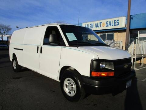 2010 Chevrolet Express Cargo for sale at Salem Auto Sales in Sacramento CA