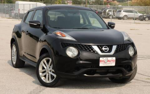 2016 Nissan JUKE for sale at Big O Auto LLC in Omaha NE