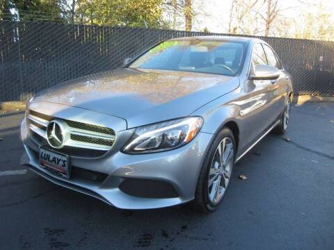 2015 Mercedes-Benz C-Class for sale at LULAY'S CAR CONNECTION in Salem OR