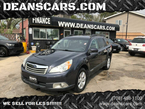2012 Subaru Outback for sale at DEANSCARS.COM in Bridgeview IL