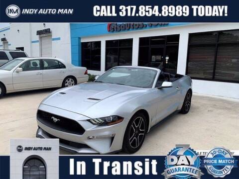 2019 Ford Mustang for sale at INDY AUTO MAN in Indianapolis IN