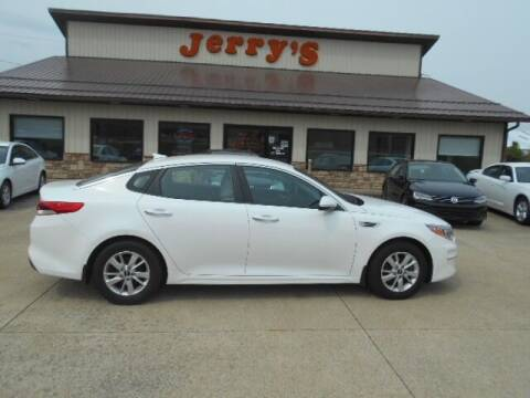 2016 Kia Optima for sale at Jerry's Auto Mart in Uhrichsville OH