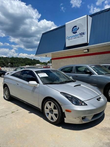 2001 Toyota Celica for sale at CarUnder10k in Dayton TN