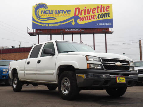 2006 Chevrolet Silverado 1500HD for sale at New Wave Auto Brokers & Sales in Denver CO