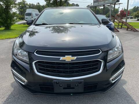 2015 Chevrolet Cruze for sale at Greenville Motor Company in Greenville NC