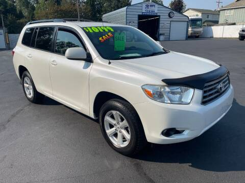 2008 Toyota Highlander for sale at 3 BOYS CLASSIC TOWING and Auto Sales in Grants Pass OR