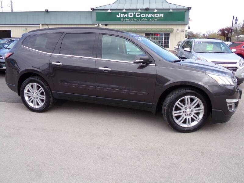 2013 Chevrolet Traverse for sale at Jim O'Connor Select Auto in Oconomowoc WI