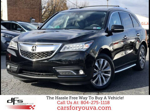 2014 Acura MDX for sale at DFS Auto Group of Richmond in Richmond VA