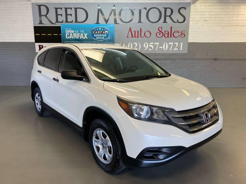 2013 Honda CR-V for sale at REED MOTORS LLC in Phoenix AZ