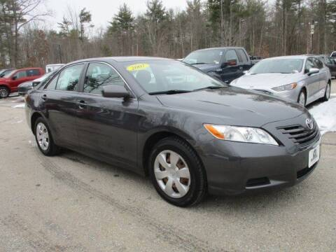 2007 Toyota Camry for sale at MC FARLAND FORD in Exeter NH