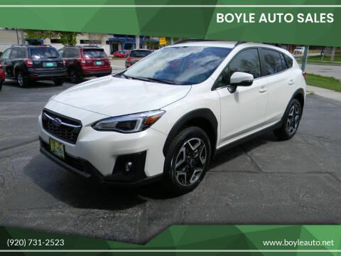 2020 Subaru Crosstrek for sale at Boyle Auto Sales in Appleton WI