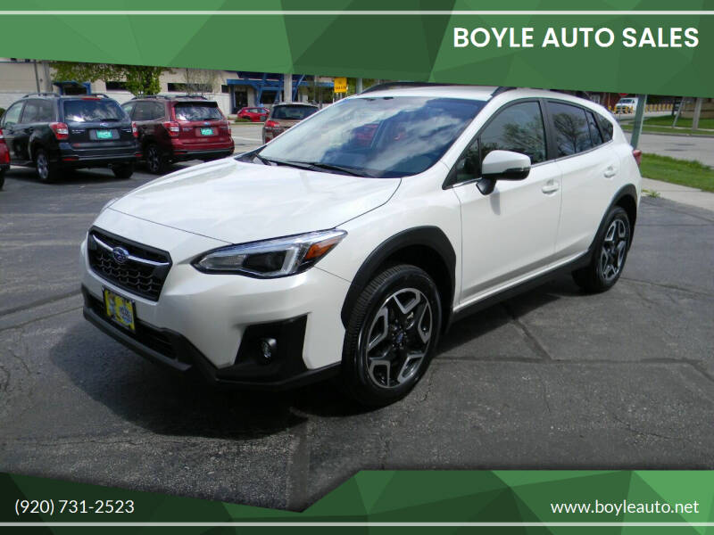 2020 Subaru Crosstrek for sale at Boyle Auto Sales in Appleton WI