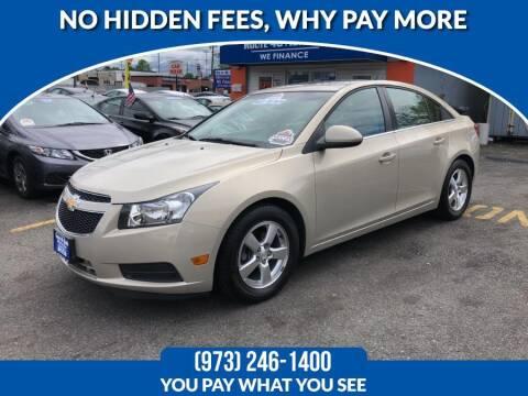 2011 Chevrolet Cruze for sale at Route 46 Auto Sales Inc in Lodi NJ
