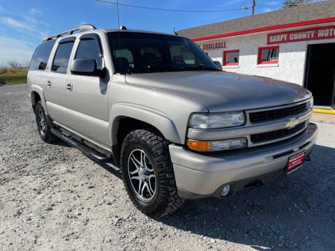 2004 Chevrolet Suburban for sale at Sarpy County Motors in Springfield NE