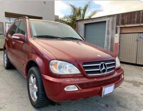 2003 Mercedes-Benz M-Class for sale at Dodi Auto Sales in Monterey CA