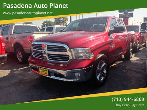 2014 RAM Ram Pickup 1500 for sale at Pasadena Auto Planet in Houston TX
