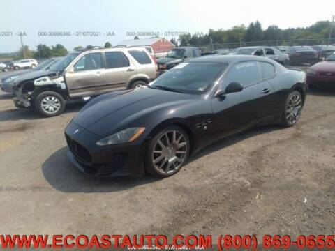 2008 Maserati GranTurismo for sale at East Coast Auto Source Inc. in Bedford VA