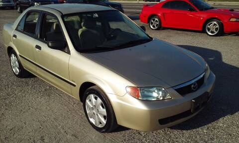 2002 Mazda Protege for sale at Pinellas Auto Brokers in Saint Petersburg FL