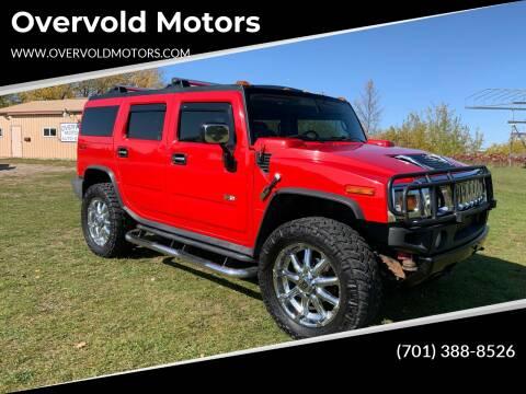 2004 HUMMER H2 for sale at Overvold Motors in Detriot Lakes MN