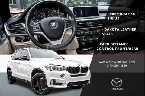 2018 BMW X5 for sale at Mazda Of Roswell in Roswell GA