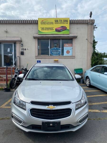 2015 Chevrolet Cruze for sale at Budget Auto Deal and More Services Inc in Worcester MA