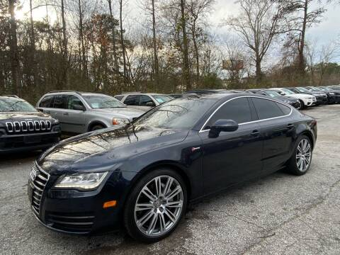 2012 Audi A7 for sale at Car Online in Roswell GA