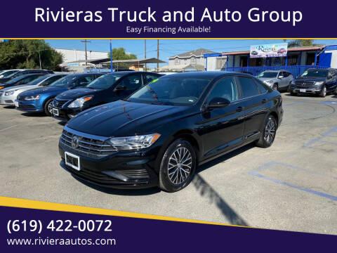 2019 Volkswagen Jetta for sale at Rivieras Truck and Auto Group in Chula Vista CA